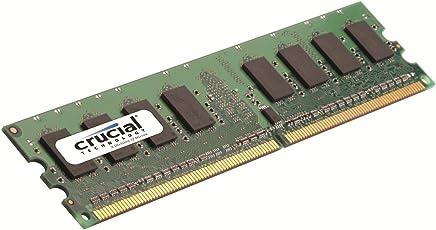Crucial CT12864AA667 1GB 240-pin DDR2 667mhz Non-ECC 1.8V CL5 Desktop Memory Module