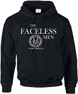 Allntrends Adult Hoodie Sweatshirt The Faceless Men Valar Morghulis