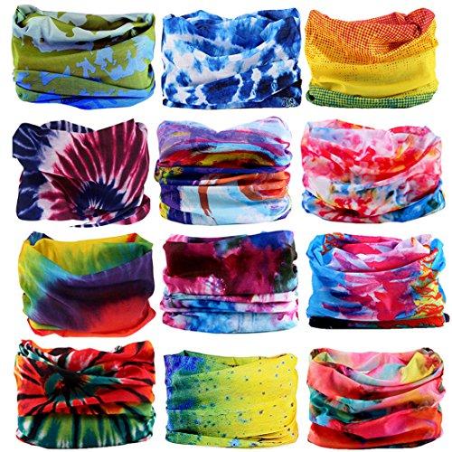 KALILY Headwear Head Wrap Sport Headband Sweatband – 200+ Patterns Magic Scarf for Camping, Running, Cycling, Fishing etc