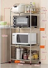 Multifunctional Kitchen Storage Rack Storage Shelf Shelves Microwave Oven Rack Kitchen Floorstanding Multilayer Stainless ...