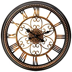 Brookwood 12 Round Wall Clock