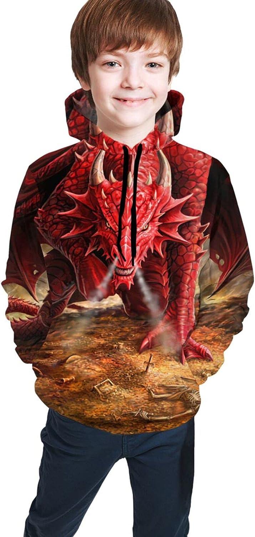 Dungeons Dragons Teen Hoodies 3D Print Sweatshirts