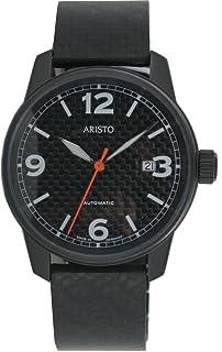 Aristo - Reloj de pulsera automático para hombre de acero inoxidable 0H10