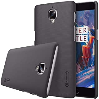 Nillkin Oneplus 3 / 3T - Frosted Shield Hard Back Phone Case Cover- Black