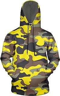 Just Hiker Multicam Camouflage Camo Blue Long Sleeve Cute Pullover Sweatshirt Mens