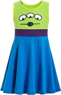 Alien Toy Story Costume for Toddler Alien Costume for Girls Princess Dress Party Cosplay Gift