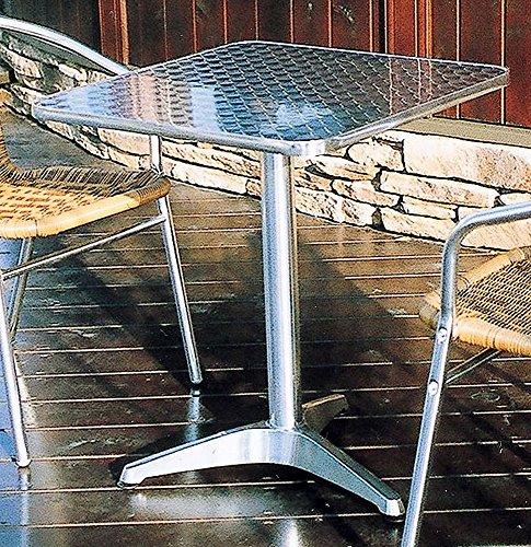 ジャービス商事 アルミニウムファニチャー ガーデンテーブル アルミテーブル角 YTS2-60 32619 テーブルのみ