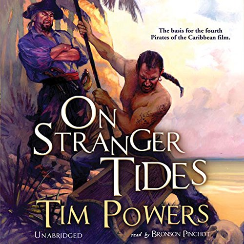 On Stranger Tides audiobook cover art