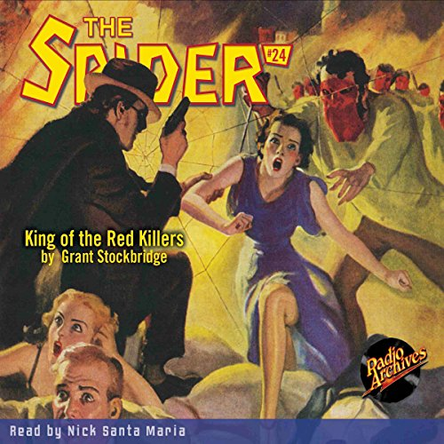 Spider #24, September 1935: The Spider audiobook cover art