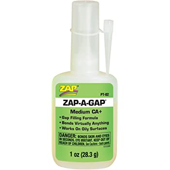 Pacer Technology (Zap) Zap-A-Gap Adhesives, 1 oz