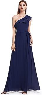 Ever-Pretty Womens Elegant Sleeveless Floor Length Ruffles Chiffon Bridesmaids Dress 07201