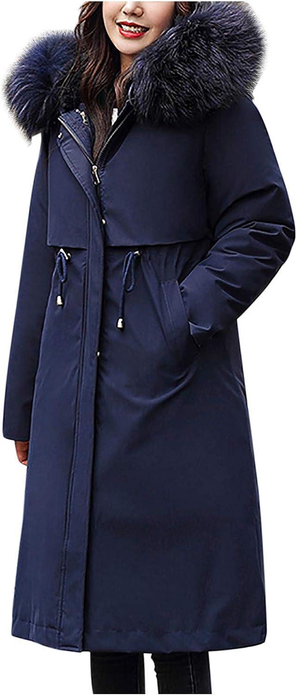 ATRISE Women's Winter Paka,Plus Size Coat,Short Slim Padded Jacket Mother's Cotton Coat Long Sleeve Lang,Trench Coat