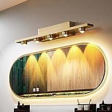 ZXQ LED Badkamer Spiegel Voorlicht Waterdicht en Anti-condens Wandlamp Acryl Lampenkap Make-up Verlichting Foto Lights, Wi...