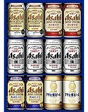 【贈り物/お歳暮に】アサヒビール5種12本セット(AHF3) [350ml×12本][ギフトBOX入り]