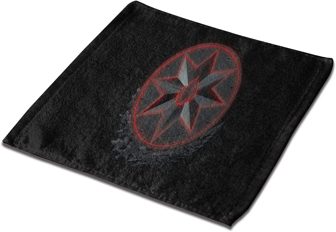 LuckyTagy Selling Washcloth Regular store Towel Special Cloths Face Dark Square