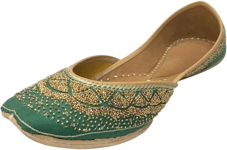 Step n Style Ladies Punjabi Jutti Khussa shoes Ethnic Mojari Flat Ballet Ballerina