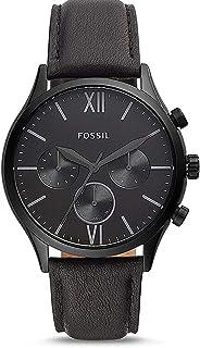 FOSSIL Men's 44MM FENMORE LEATHER WATCH - BQ2364