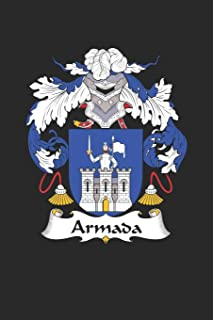 Armada: Armada Coat of Arms and Family Crest Notebook Journal (6 x 9 - 100 pages)
