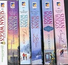 Susan Wiggs Lakeshore Chronicles Volumes 2-7 (The Winter Lodge, Dockside, Snowfall at Willow Lake, Fireside, Lakeshore Chr...
