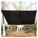 XXIOJUN Gewächshaus-Schattennetz, Sunblock Shade Cloth Mit Ösen 90% Schattierungsrate, Outdoor Shade Screen Taped Edge Für Gartenblumenpflanze (Color : Black, Size : 4x4m)