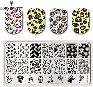 Cyril Candy Nail Art Stamp Pack of Two