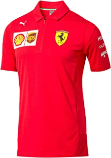 2019 Scuderia Ferrari Replica Team Polo Shirt 2019