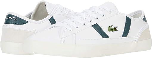 White/Dark Grey Green