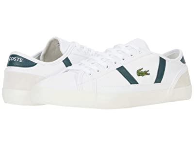 Lacoste Sideline 0120 1 (White/Dark Grey Green) Men