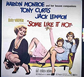Some Like It Hot (1959) Original Movie Poster