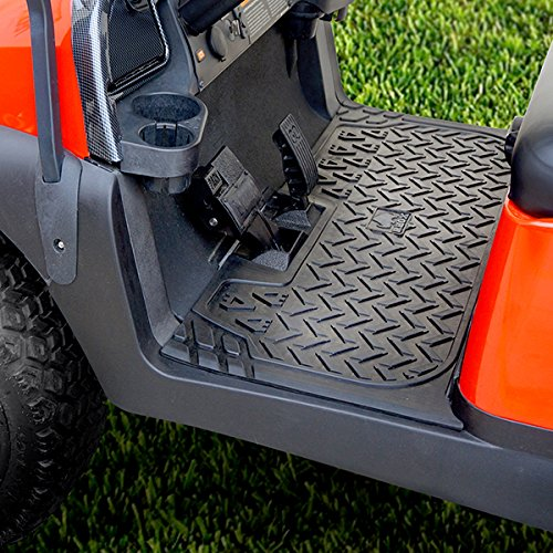 Rhino Club Car Precedent or Tempo Golf Cart Protective Rubber Floor Mat