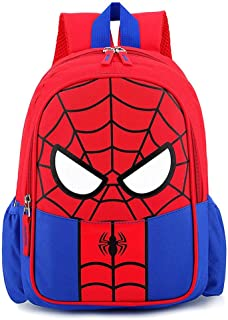 PACKAGE Cartoon Man Wei Spiderman Mochila Niño Iron Man Mochila Bebé Kinder Niño Excursión Paquete De Viaje De Primavera 2