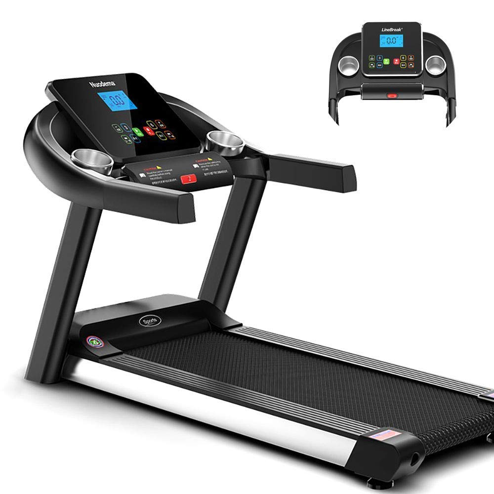 Smart Digital Folding Electricity Treadmill 16 x 40 Inches Running Surface Capacity with 1.5hp Silent Motor for Running Walking - Pairs to Bluetooth SHIYUE WTZ012