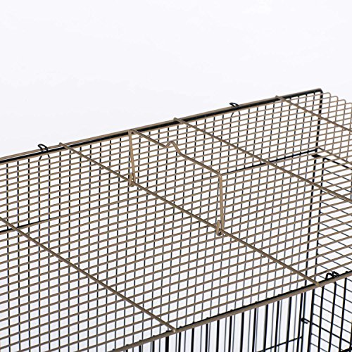 Prevue Pet Products SP42614-4 Flight Cage, Brown/Black