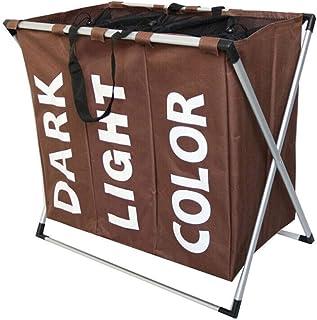 Boîte de Rangement de paniers de blanchisserie de la Salle de Bain, Super Grande capacité Peut être stockée dans de Nombre...