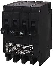Siemens Q21530CT 30-Amp Double Pole Two 15-Amp Single Pole Circuit Breaker