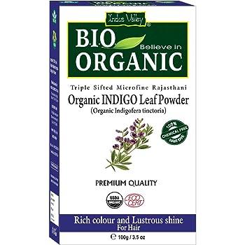Indus Valley Organic Indigo Powder Hair Color (Pack of 1)