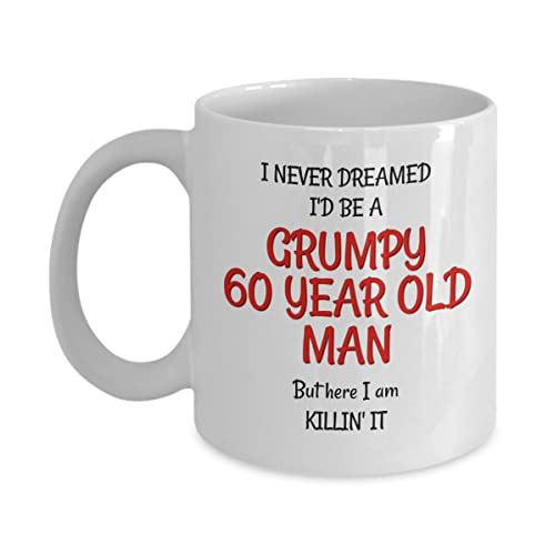 60th Birthday Mug For Men