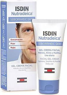ISDIN Nutradeica - Gel-crema facial indicado para el tratamiento del exceso de sebo, descamación, picor y eritema de la pi...