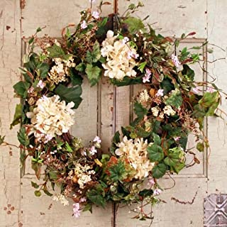 Non Christmas Winter Wreaths.Amazon Com Outdoor Wreaths Home Decor Accents Home