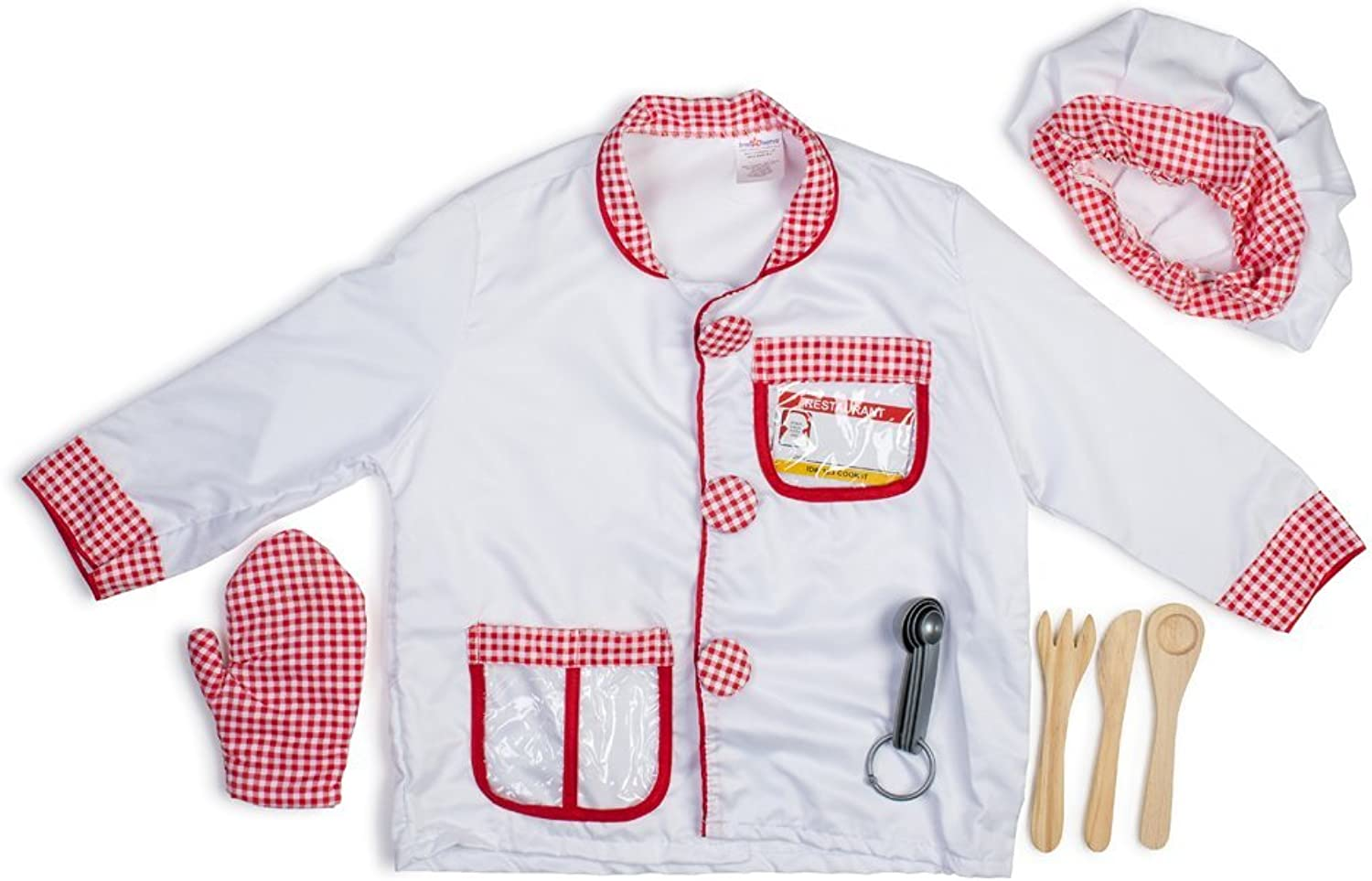 Chef Role Play Dress Up Set - Ages 3-7