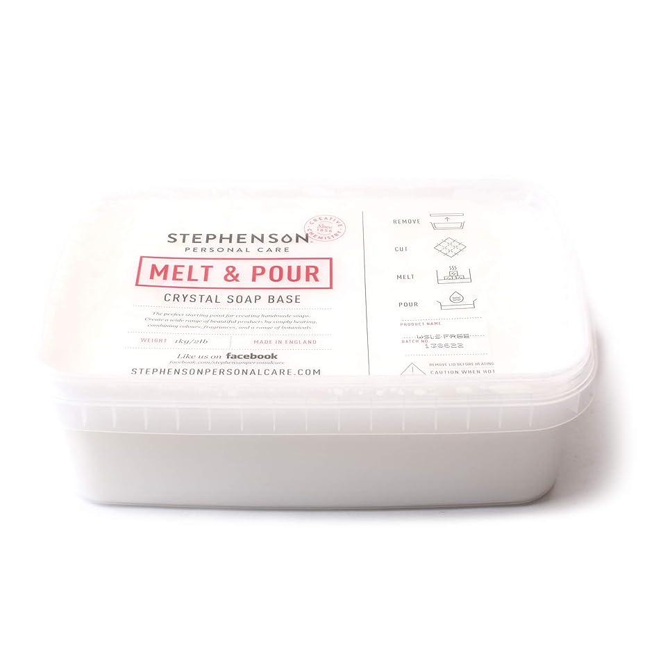 思慮深いふつう黒Melt and Pour Soap Base White SLS FREE - 10Kg