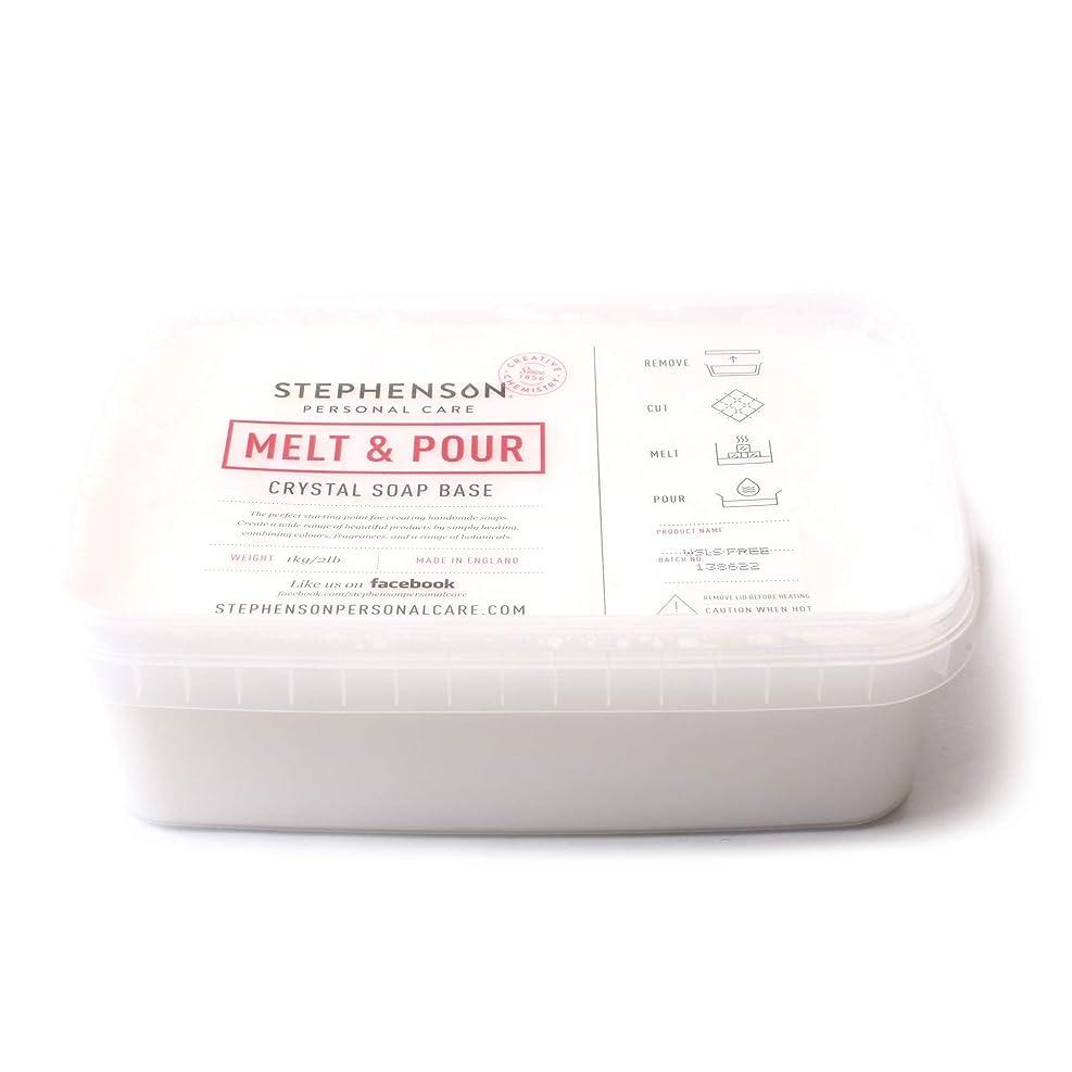 報復するスケッチ高音Melt and Pour Soap Base White SLS FREE - 10Kg