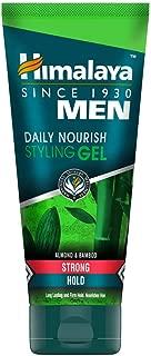 Himalaya Men Daily Nourish Styling Gel, Strong Hold, 100ml