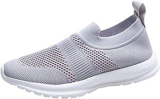 Zapatillas de Mujer Deportivas Running Verano 2020 PAOLIAN Zapatillas Mujer Deporte Fitness sin Cordones Zapatos de Mujer Caminar Trekking Vestir C/ómodos Sneaker Transpirable