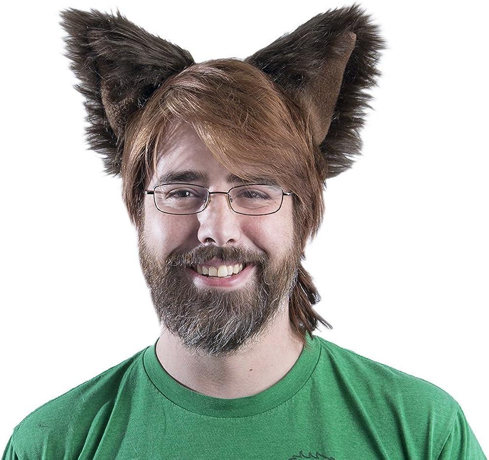 Pawstar free Canine Ear Headband Furry 1 year warranty Dog Costume Ears Puppy