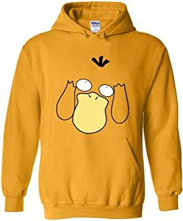ZOZATEE The Funny Psyduck Pullover Hoodie 8 oz