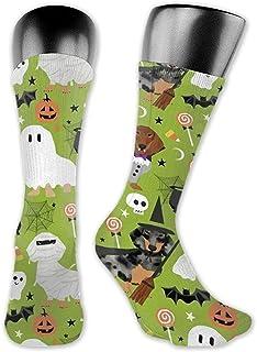 Dachshund Halloween Unisex Calcetines Calcetines largos de moda para interiores y exteriores