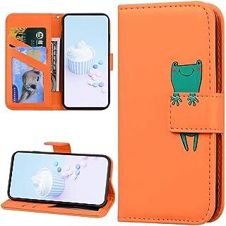 Urfeda Beschermhoes voor iPhone 6 Plus/6S Plus, flipcase, schattig diermotief, magneetsluiting, PU-leer, schokbestendig, b...