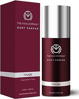 The Man Company Body Perfume For Men - Rouge   No Gas Deodorant   Body Spray For Men   Long Lasting Fragrance -120ml
