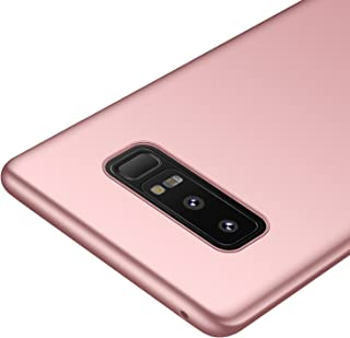 kqimi Galaxy Note 8 Case [Colorful Series] [Ultra-Thin] [Anti-Drop] Premium Material Slim Full Protection Cover for Samsung Galaxy Note8 2017 (Rose Gold)